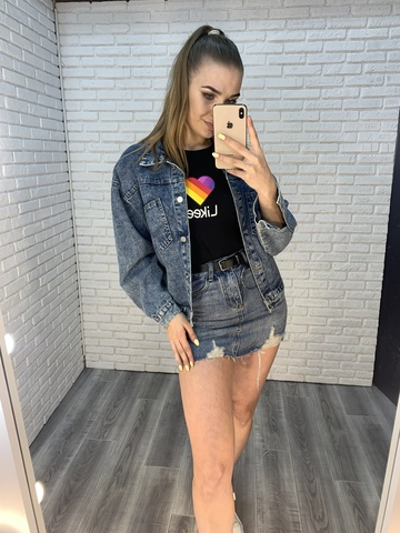 джинсовая куртка на лето женская купить
