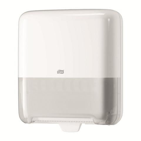 Диспенсер для рулонных полотенец Tork Matic Elevation H1 пластиковый белый (код производителя 551000)