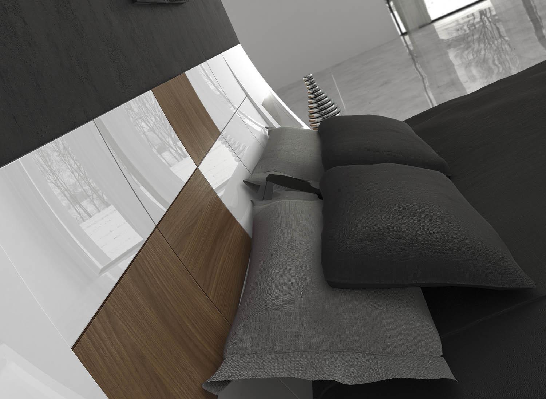 Кровать Fenicia Mobiliario 505 MARBELLA-Blanco