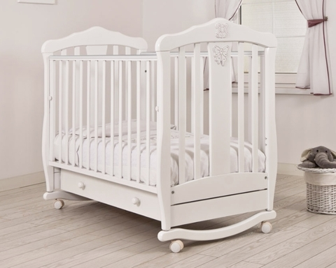 """Кровать детская К-2002-28 """"Доминик"""" Люкс (белый)"""