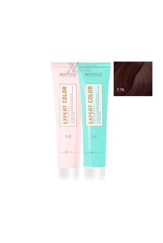 Expert Color Hair Color Cream 7/76 русый коричнево-фиолетовый 100 мл