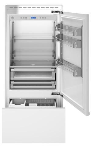 Встраиваемый двухкамерный холодильник Bertazzoni REF90PRR