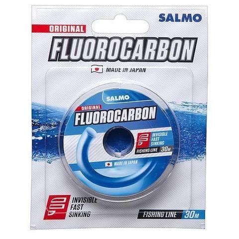 Леска монофильная Salmo FLUOROCARBON 30м, 0,10мм