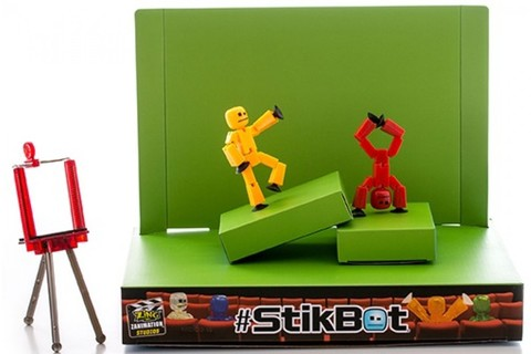 Анимационная студия Stikbot (со сценой)