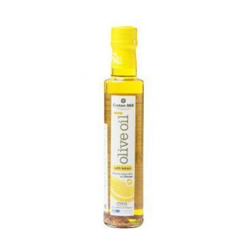 Оливковое масло с лимоном Cretan Mill 250 мл