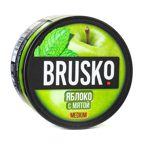 Кальянная смесь BRUSKO 250 г Яблоко с Мятой