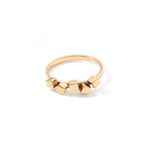 Кольцо Gold 16.5 5070/40-1600 52 цвет золотой