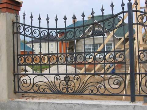 Кованый забор N-5