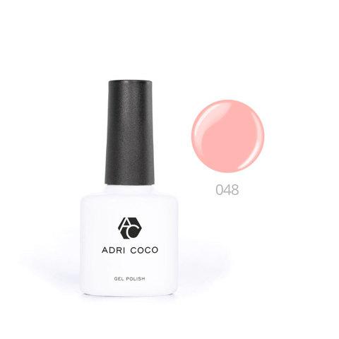 Цветной гель-лак ADRICOCO №048 ярко-персиковый (8 мл.)