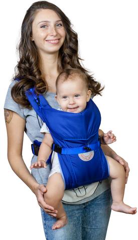 Чудо-Чадо. Рюкзак-кенгуру BabyActive Simple, синий