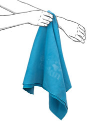 Полотенце быстросохнущее Jack Wolfskin Great Barrier Towel Xl turquoise - 2