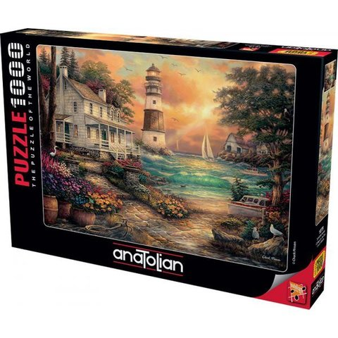 Puzzle Sahildeki Konak. Cottage by the Sea 1000 pcs