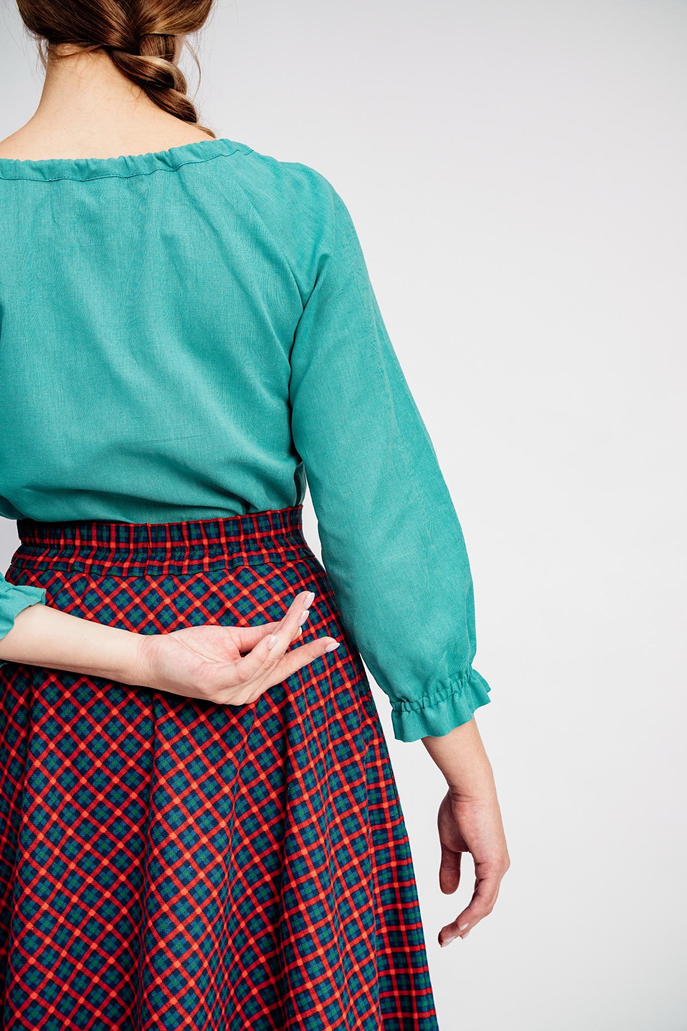 Купить длинная теплая юбка