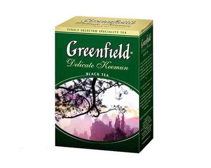 Чай черный листовой Greenfield Delicate Keemun