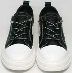 Женские сникерсы туфли повседневные El Passo sy9002-2 Sport Black-White.