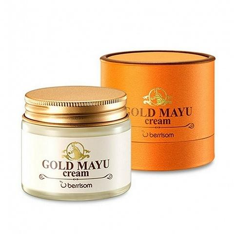 Berrisom Gold Mayu Cream крем для лица с лошадиным жиром и золотом
