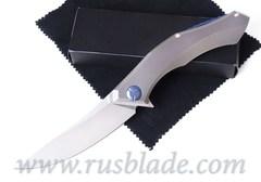 CUSTOM Shirogorov POLUCHOTKY KNIFE M390 MRBS