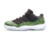 Air Jordan 11 Retro Low 'Green Snakeskin'