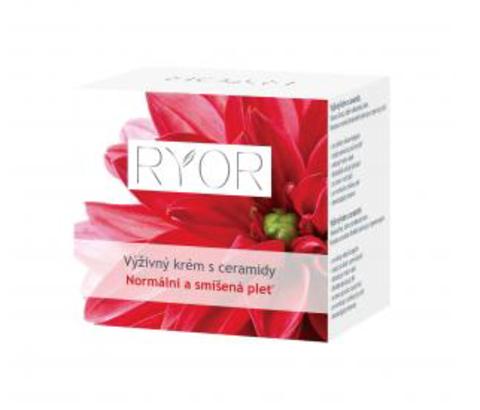 Ryor Питательный ночной крем с керамидами для нормальной и комбинированной кожи, 50мл