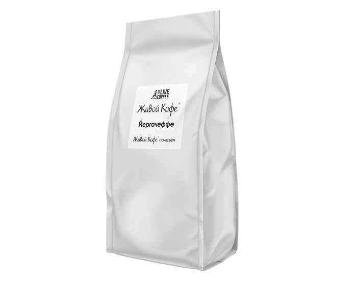 Кофе в зернах Живой Кофе Yirgacheffe, 1 кг