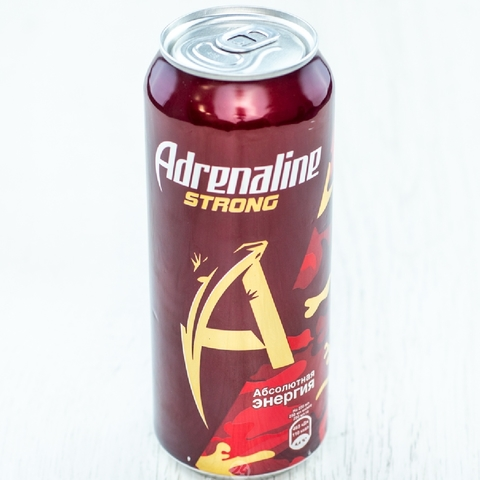 Напиток энергетический ADRENALINE STRONG 0,449 л ж/б РОССИЯ