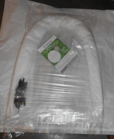 Парник 4 м дуги вшиты в материал – «гармошка»