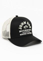 Бейсболка John Doe Trucker Hat Black-White