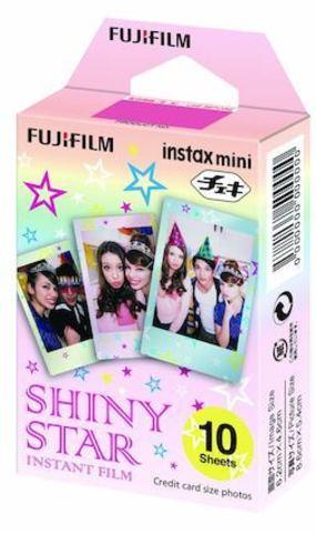 Fotoaparat lenti \ Картридж Fujifilm 10 lent Instax Mini Shiny Star