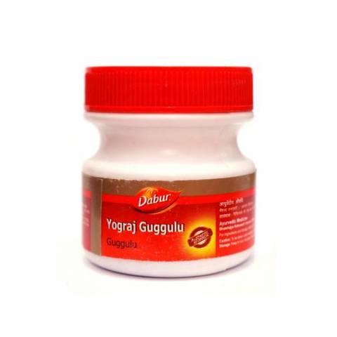 Йогарадж Гуггул (YOGARAJ GUGGUL), Dabur, 120 таблеток