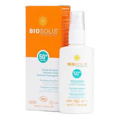 BioSolis, Жидкость для экстремальной защиты кожи лица SPF 50+, 40мл