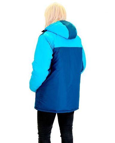 Куртка ИТР женская Морская волна с бирюзовым