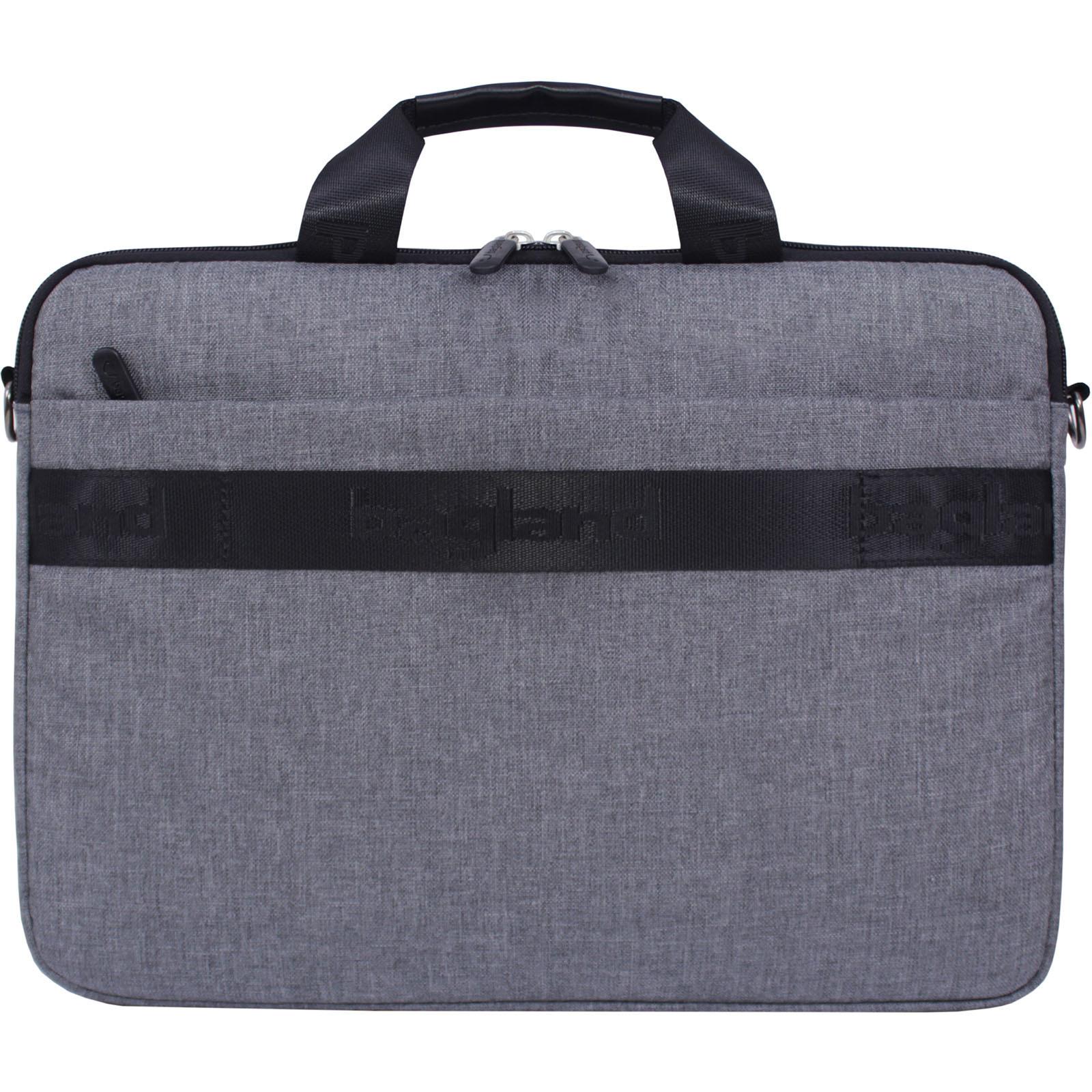 Сумка для ноутбука Bagland Континет 7 л. серый (0044069) фото 3