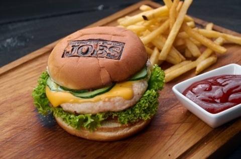 Джобс бургер з куркою (300г)
