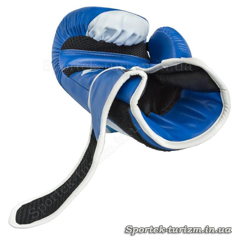 Перчатки для боксу та кікбоксингу на липучці VENUM 10 oz- від