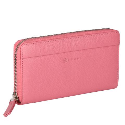 Розовый большой женский кошелёк-клатч 20х10х2см CROSS Colors Flamingo AC3138287_5-125