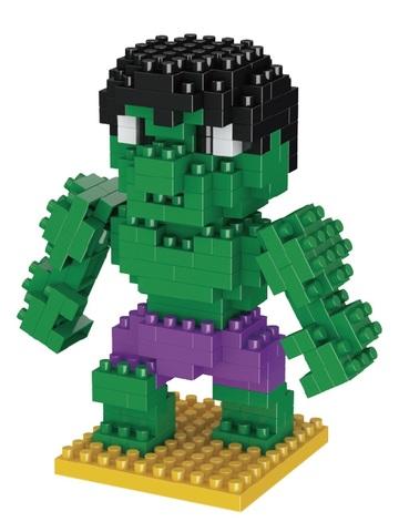 Конструктор Wisehawk & LNO Халк 190 деталей NO. 021 Hulk Gift Series