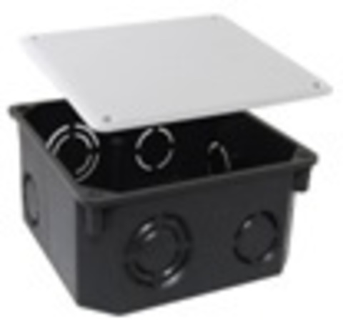 Распаячная коробка СП 110х110х50мм, крышка, IP20, TDM