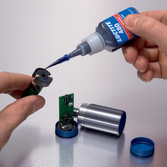 LOCTITE 480 Клей моментальный, упрочнённый, термо/вибростойкий