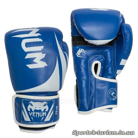 Перчатки для бокса и кикбоксинга на липучке VENUM 12 oz
