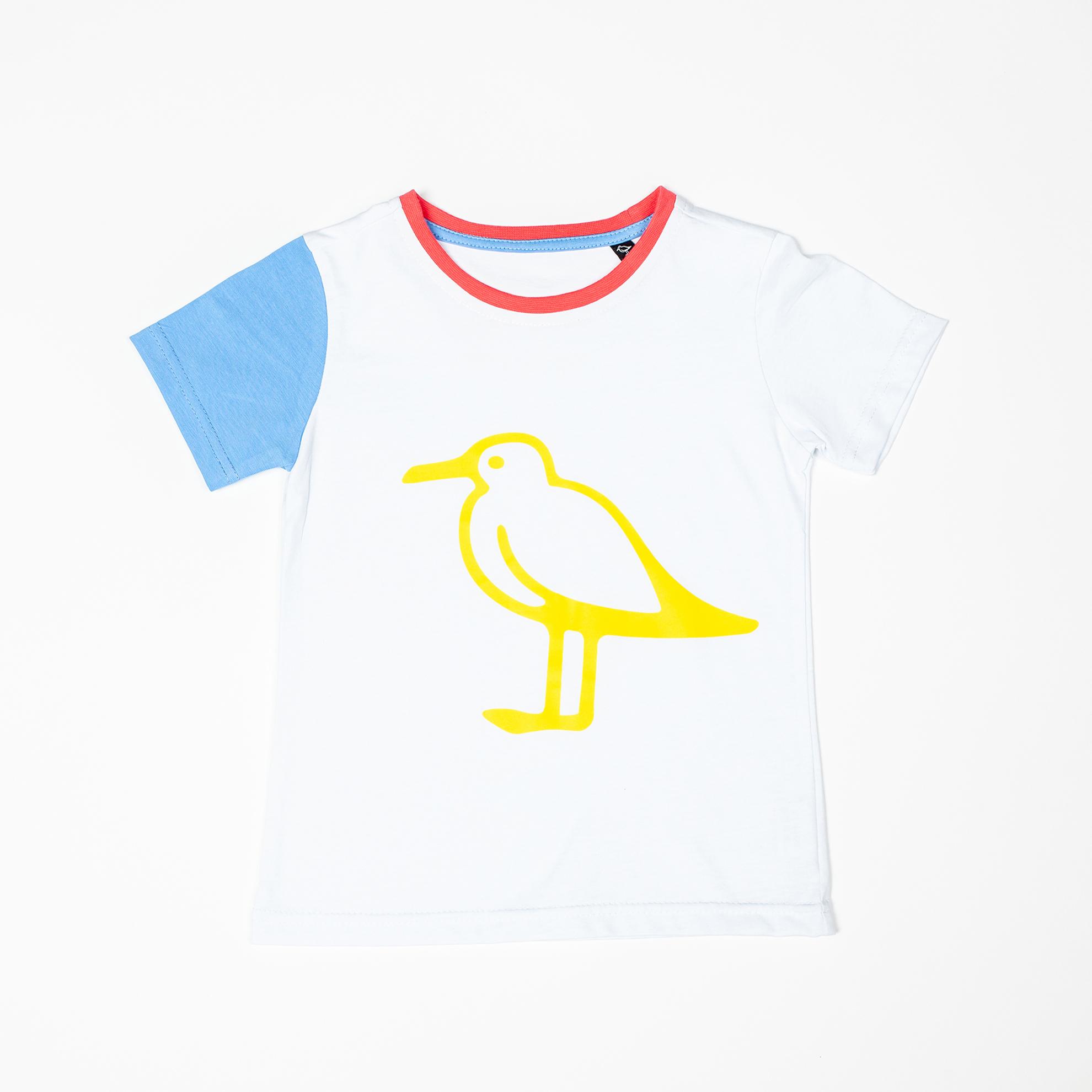 Детская многоцветная футболка