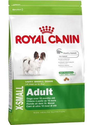 11 кг. ROYAL CANIN Сухой корм для взрослых собак миниатюрных пород X-SMALL Adult
