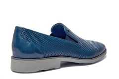 Кожаные туфли Luca Guerrini 9534 с перфорацией