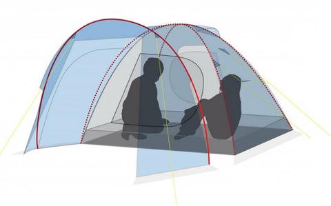 Палатка Canadian Camper RINO 2, цвет royal