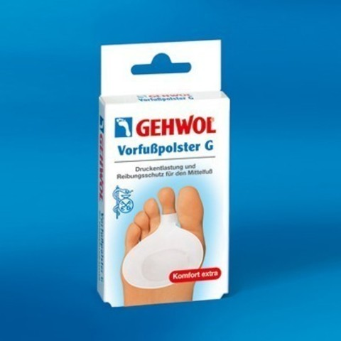 Gehwol (Геволь) - Супинаторы Гель-полимер: Гель-подушечка под пальцы (Vorfubpolster G), большая, 1пара