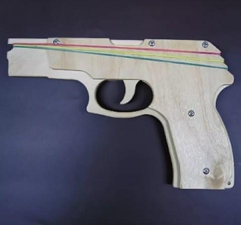 057-1960 Револьвер резинкострел