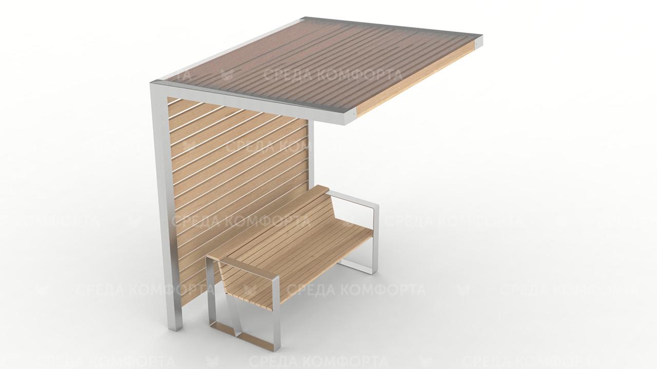 Скамейка с навесом SCAM0119