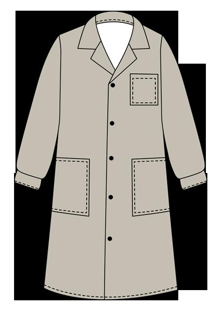 Выкройка мужского халата «Кладовщик» на заказ