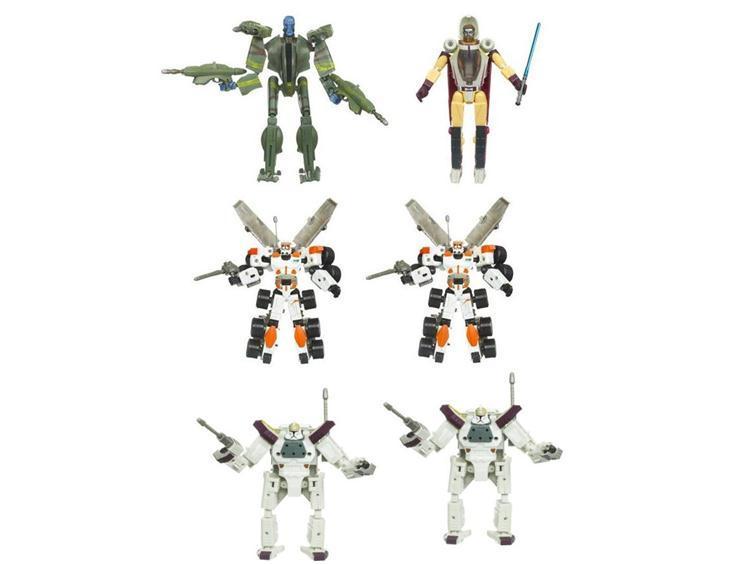 Star Wars Transformers 2010 Series 02