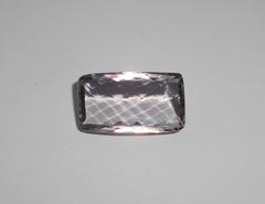 Аметист розовый 22 x 12,5 мм прямоугольный