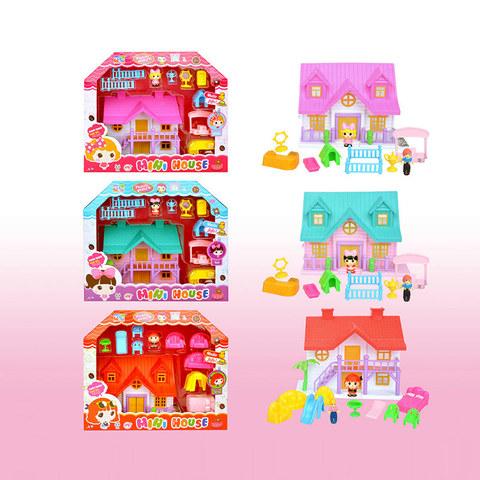 Дом с мебелью и фигурками (в коробке), КДЛ39-56